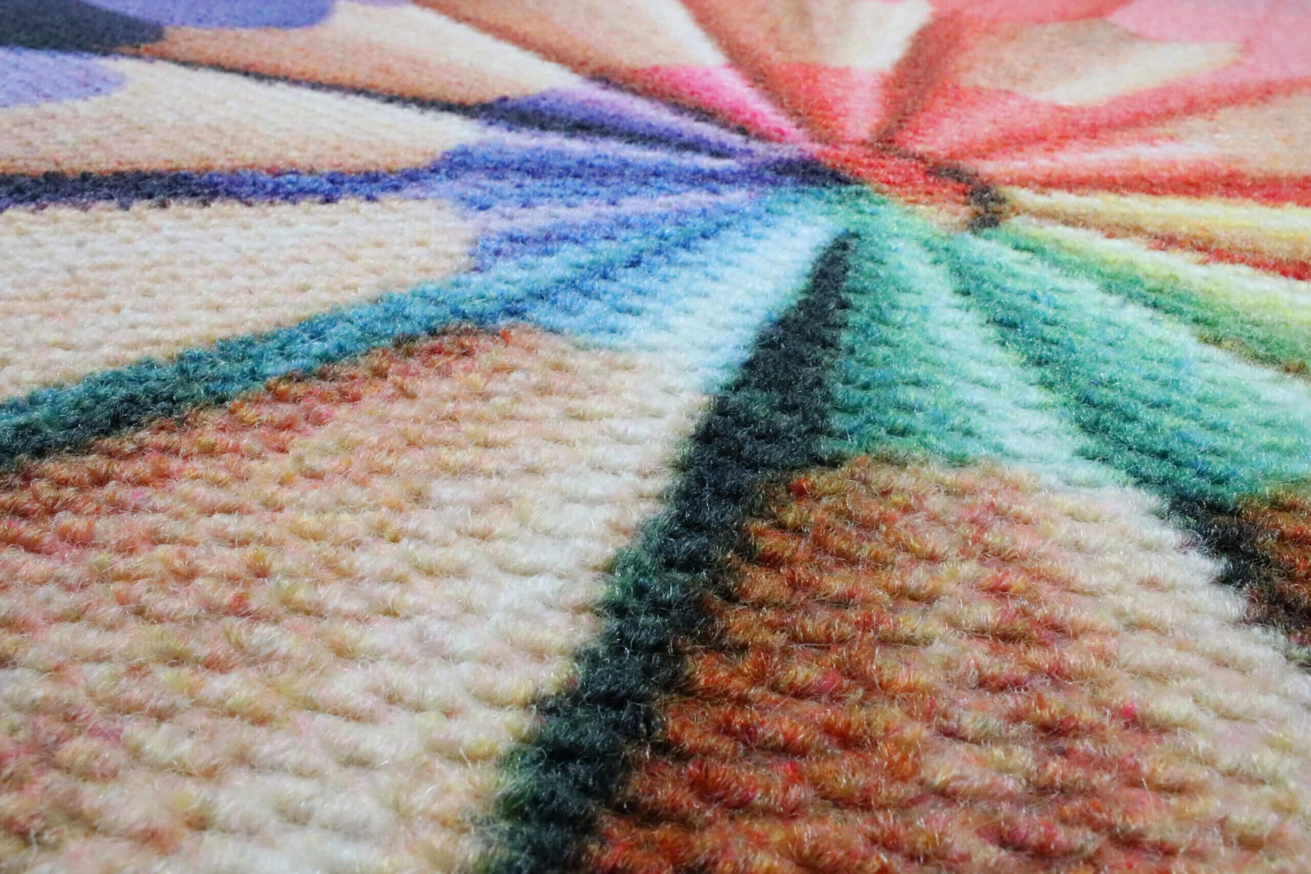 closeup of a berber impressions mat
