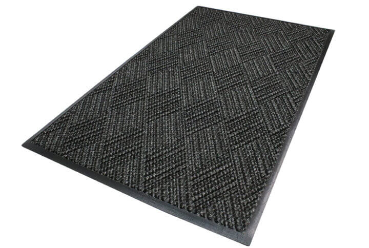 isolated image of a waterhog mat