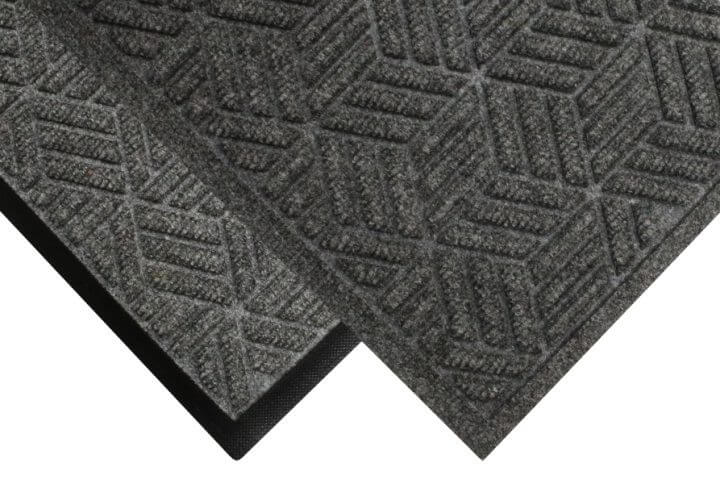 closeup of the legacy eco mat with fashion and classic border