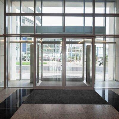 entranceway to a building