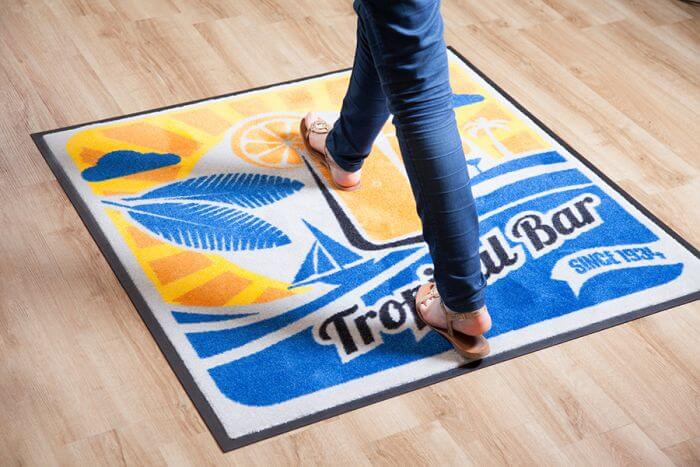 ColorStar® Impressions Logo Mats - 3ft x 5ft (35in x 58in)